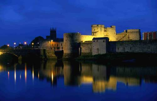 Nighttime Limerick - A place rarely visited by Irish Times music journalists