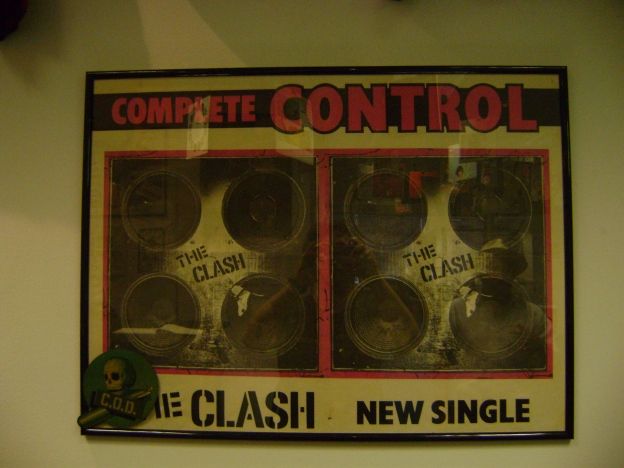 Promotional poster for the Complete Control single