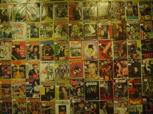 A selection of music magazines