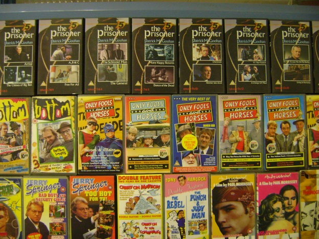 A closer look at Mick's film collection