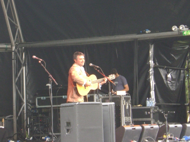 Chris Wood at Folk by the Oak 2009