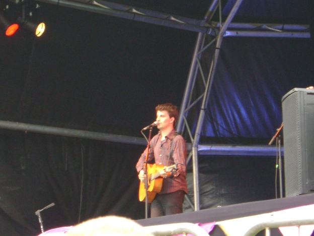 Jim Moray at Folk by the Oak 2009