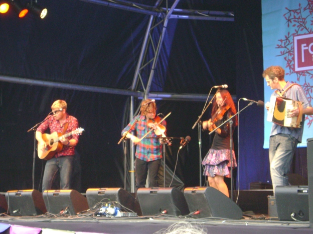 Kathryn Tickell at Folk by the Oak 2009