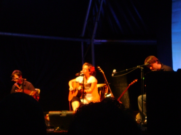 Kate Rusby & band at Folk by the Oak 2009