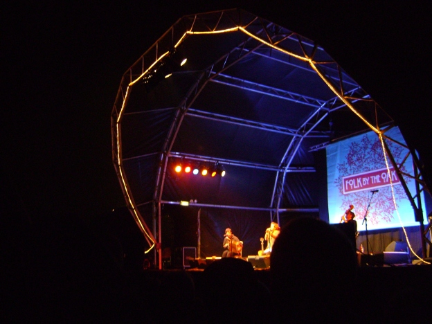 Kate Rusby closing Folk by the Oak 2009