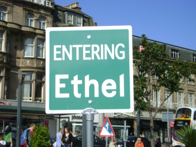 Entering Ethel