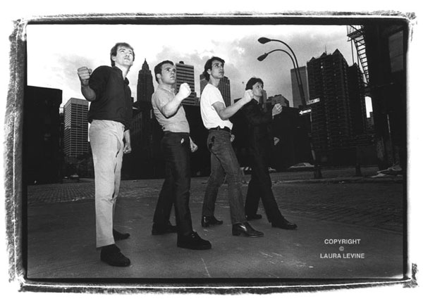 Gang of Four, New York City, 1981 (c) Laura Levine